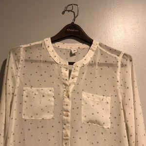 Old Navy Tops - Sheer long sleeve shirt
